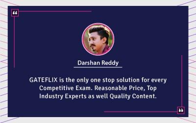 Mr. Darshan Reddy Testimonial For Gateflix
