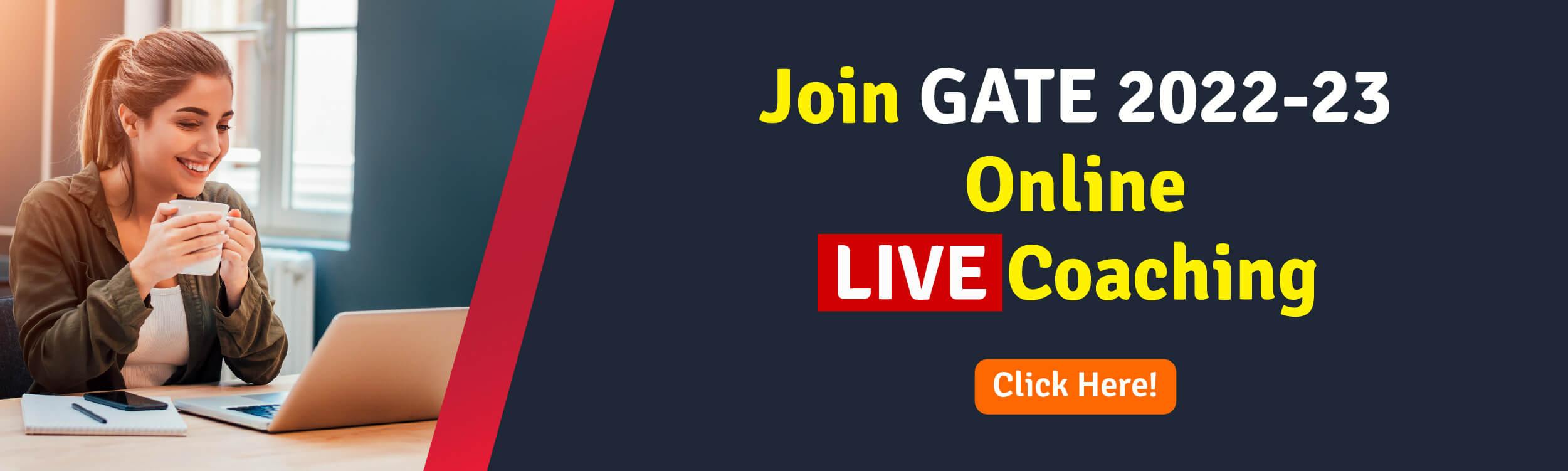GATE Online coaching-CTA